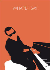 Gallery Print  Ray Charles - What'd I Say - chungkong