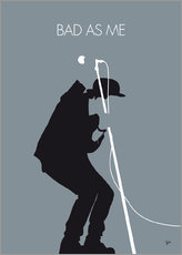 Gallery Print  No037 MY TOM WAITS Minimal Music poster - chungkong