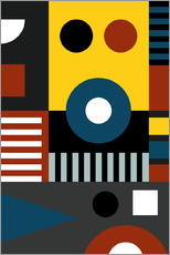 Gallery Print  REDE AM BAUHAUS - THE USUAL DESIGNERS
