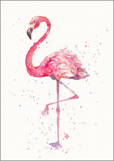 Gallery Print  Fancy Flamingo - Sillier Than Sally