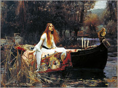 Gallery Print  Die Dame von Shalott - John William Waterhouse