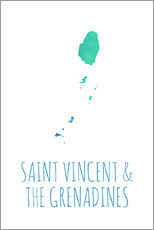 Wandsticker Saint Vincent & the Grenadines