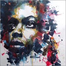 Wandsticker  Nina Simone  : My Baby Just Cares For Me  - Paul Lovering Arts