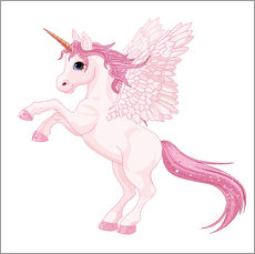 Wandsticker  Mein Einhorn - Kidz Collection