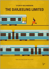 Gallery Print  The Darjeeling Limited Minimal Filmposter - chungkong
