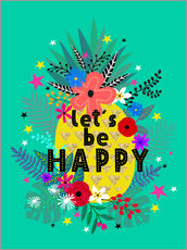 Gallery Print  Lets be Happy - Elisandra Sevenstar