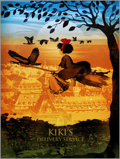 Gallery Print  KIKI's Delivery Service - Albert Cagnef