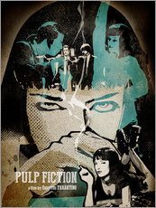 Gallery Print  Pulp Fiction - Albert Cagnef
