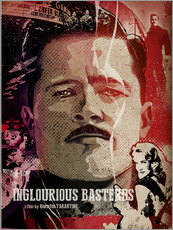 Gallery Print  Inglourious Bastards - Albert Cagnef