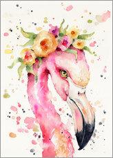 Gallery Print  Kleiner Flamingo - Sillier Than Sally