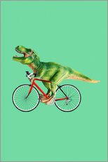 Wandsticker  Bike T-Rex - Jonas Loose