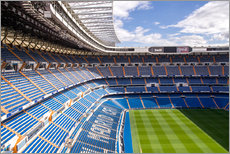 Gallery Print  Stadion in Madrid