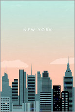 Gallery Print  New York Illustration - Katinka Reinke