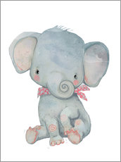 Gallery Print  Mein kleiner Elefant - Kidz Collection