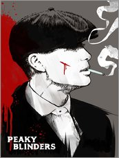 Wandsticker  Peaky Blinders Tommy Shelby - 2ToastDesign