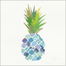 Gallery Print  Tropische Ananas II - Courtney Prahl