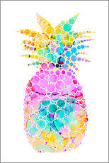 Gallery Print  Ananas - Miss Coopers Lounge