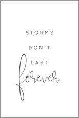 Gallery Print  Storms don't last forever - Johanna von Pulse of Art
