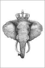 Premium-Poster The Elephant King