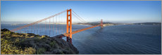 Leinwandbild  Golden Gate Bridge, San Francisco, USA - Jan Christopher Becke