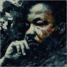 Leinwandbild  Martin Luther King - Paul Lovering Arts