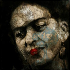 Holzbild  Frida - Paul Lovering Arts