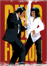 Premium-Poster Pulp Fiction Dance
