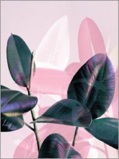 Gallery Print  Greenery & Pastell - Emanuela Carratoni