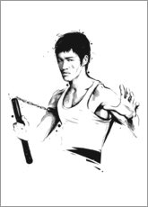 Leinwandbild  Bruce Lee - tom