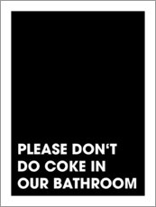 Premium-Poster Please don't do coke