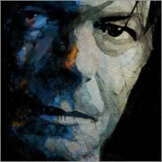 Wandsticker  Chamäleon - David Bowie - Paul Lovering Arts