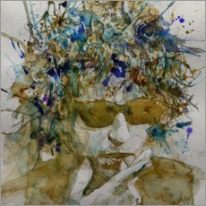 Leinwandbild  Bob Dylan, Knocking On Heavens Door - Paul Lovering Arts