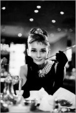 Acrylglasbild  Audrey Hepburn in Breakfast at Tiffany's - Celebrity Collection