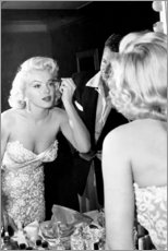 Leinwandbild  Marilyn Monroe in der Maske - Celebrity Collection