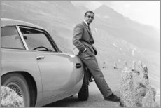 Leinwandbild  Sean Connery alias 007 - Celebrity Collection