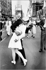 Premium-Poster  V-J Day in Times Square - Celebrity Collection