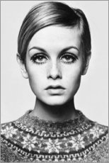 Leinwandbild  Twiggy - Celebrity Collection