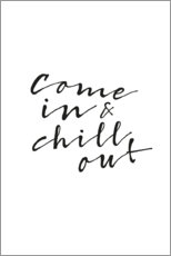 Premium-Poster Chill out
