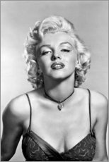 Premium-Poster  Marilyn Monroe - sexy Porträt - Celebrity Collection