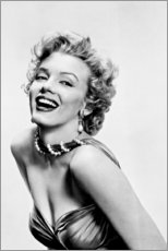 Premium-Poster  Marilyn Monroe - lächelnd - Celebrity Collection