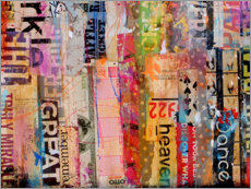 Acrylglasbild  Metro Mix III - Erin Ashley