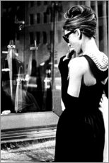 Gallery Print  Croissant Szene - Breakfast at Tiffany's - Celebrity Collection