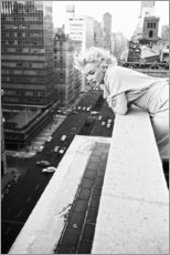 Holzbild  Marilyn Monroe in New York - Celebrity Collection
