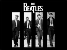 Wandsticker  The Beatles - Entertainment Collection