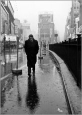 Acrylglasbild  James Dean am Times Square