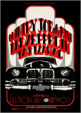 Premium-Poster Led Zeppelin & Country Joe And The Fish