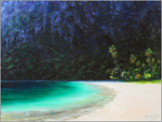 Acrylglasbild  Sugar Beach - Jonathan Guy-Gladding