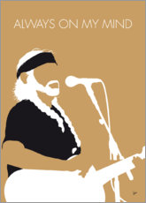 Premium-Poster Willie Nelson - Always On My Mind