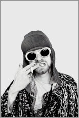Leinwandbild  Kurt Cobain - Celebrity Collection