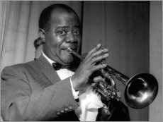 Gallery Print  Louis Armstrong